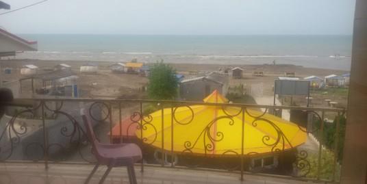اجاره ویلای بر اول ساحل زیباکنار(کد:۱۱۷۳)