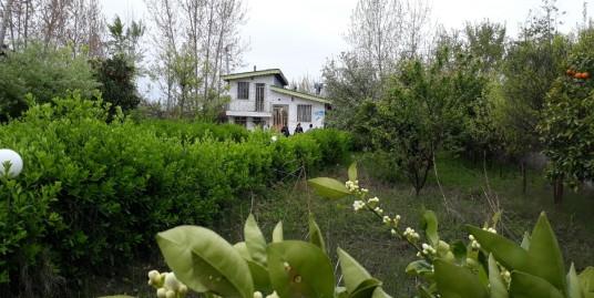 ویلا باغ ۱۰۰۰ متری سنددار در زیباکنار(۷۷۳)
