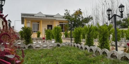ویلا باغ ۶۰۰ متری سنددار در زیباکنار(کد:۷۸۳)
