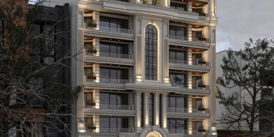 پیش فروش برج میلان لوکس ساحلی در پاسداران انزلی(کد ۱۲۴)