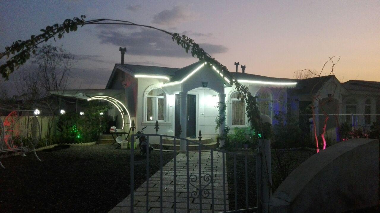 ویلا شهرکی ۳۱۸ متری نوساز در زیباکنار(کد ویلا:۶۹۵)