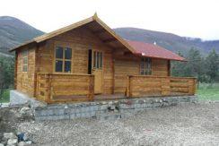 فروش فوری کلبه چوبی قابل حمل(کد:174)